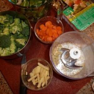 Preparing Thai Noodle Soup