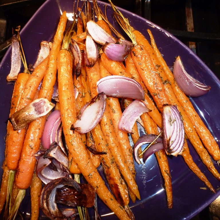 Roasted Baby Carrots from Simply Recipes