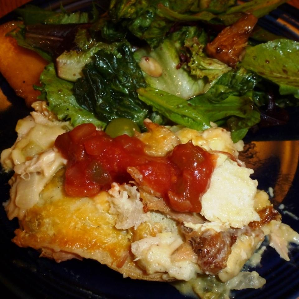 Green Chili Chicken Cassarole