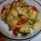 Gnocchi with Zucchini Ribbons