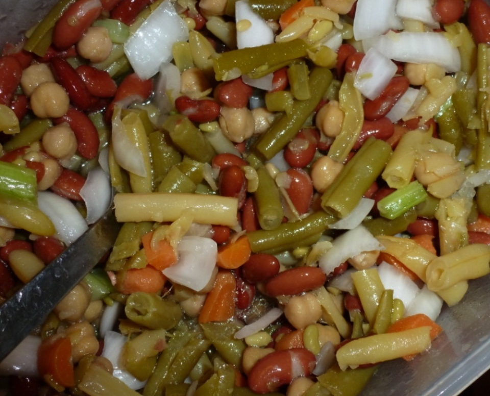 Mom's Bean Salad