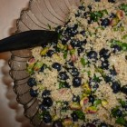 Quinoa and Blueberry Salad with Pistachios