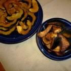 Glazed and Chili-Roasted Acorn Squash