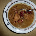Persian Chicken Stew with Walnut and Pomegranate Sauce