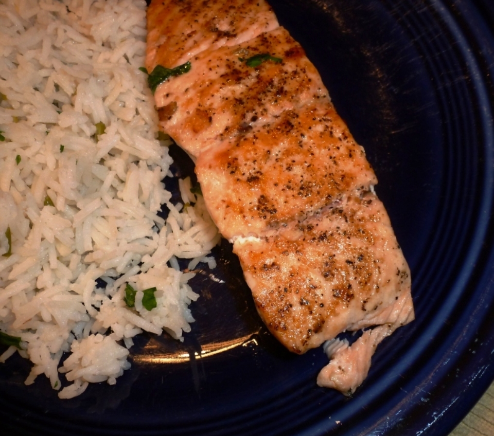 Pan-Seared Oven-Roasted Salmon